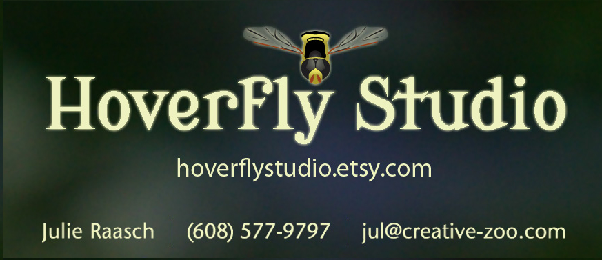 Hoverfly Studio business card