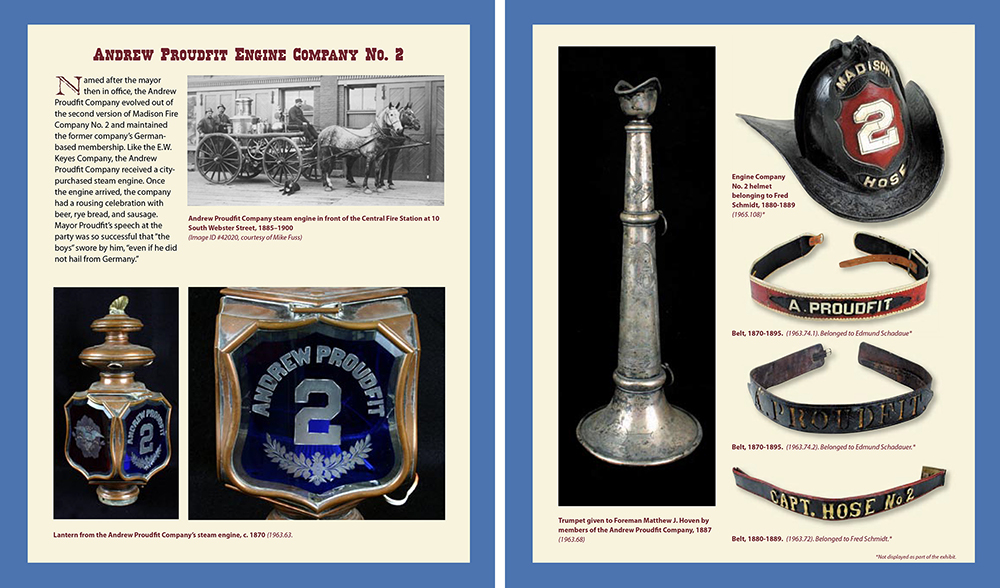 Madison Fire Fighter Scrap Book